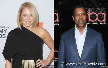 Katie Couric Gets Dragged for Claiming Denzel Washington Made Her 'Uncomfortable' and 'Shaken' - AceShowbiz Media