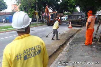 São José dá início ao recapeamento da Rua Siqueira Campos - PortalR3