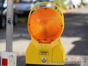 Vollsperrung auf der Rhedaer Straße in Herzebrock-Clarholz - Radio Gütersloh