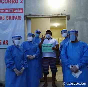 Primeiros pacientes curados da Covid-19 em Piripiri, no Piauí, são homenageados: 'Eu venci' - G1