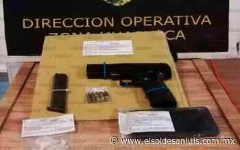 En Ciudad Valles detienen a joven armado y con sustancias prohibidas - El Sol de San Luis