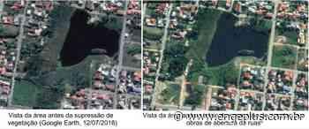 Liminar paralisa obras que causam danos ambientais em lagoa em Garopaba - Engeplus