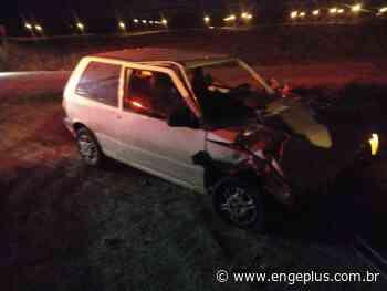 Acidente de trânsito deixa dois homens feridos em Turvo - Engeplus
