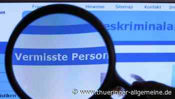 14-Jährige aus Rudolstadt seit zwei Monaten vermisst - Thüringer Allgemeine