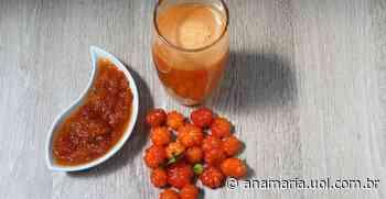 Prepare esse Drinque de Pitanga para refrescar suas tardes - AnaMaria