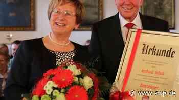 Ehrenbürger in Gaildorf: Gerhard Schick: bodenständig und beharrlich - SWP