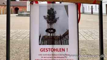 Diebe klauten den fürstlichen Maibaum in Oettingen - Nordbayern.de