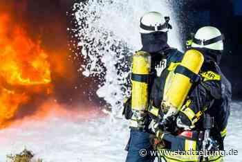 Freistehende Werkstatt in Asbach-Bäumenheim niedergebrannt - StadtZeitung
