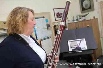 Musikunterricht im Video-Chat - Westfalen-Blatt