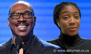 Eddie Murphy and Tiffany Haddish among the comics in historically star-studded lineup for benefit - Daily Mail