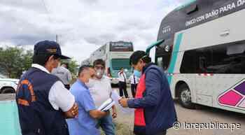 Trasladaron en bus humanitario a más de 200 personas a Amazonas - LaRepública.pe