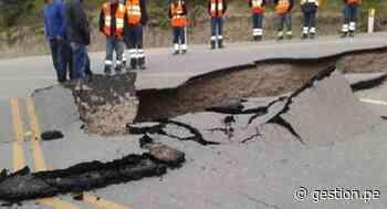 Sismo en Loreto: carretera de Cajabamba estará habilitada al 100% en tres días, según MTC - Diario Gestión