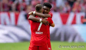 """FC Bayern München, News und Gerüchte - David Alaba: Franck Ribery """"war immer für mich da"""" - SPOX"""