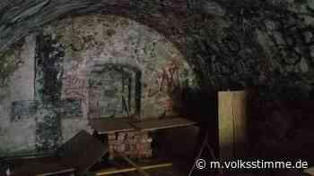 Weferlingen: Tonnengewölbe sinnlos beschmiert - Volksstimme