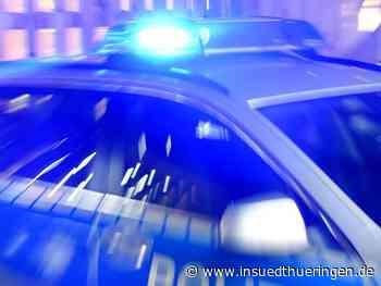 Unbekannter flüchtet von Bad Langensalza bis Arnstadt vor Polizei - inSüdthüringen