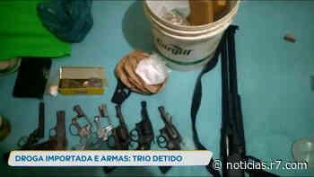 Trio é detido suspeito de gerenciar o tráfico de drogas em Matozinhos - R7