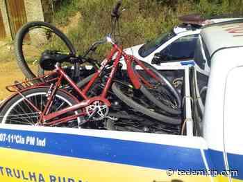 PM recupera bicicletas e iphone roubados em Matozinhos - Tecle Mídia