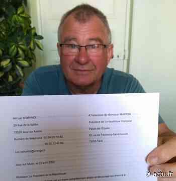 Municipales 2020. Le maire sortant de Jouy-sur-Morin demande l'annulation des résultats du premier tour - actu.fr