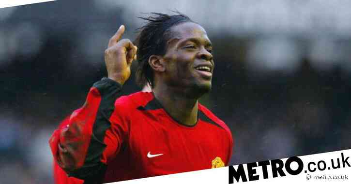 Louis Saha names his favourite strike partner at Manchester United