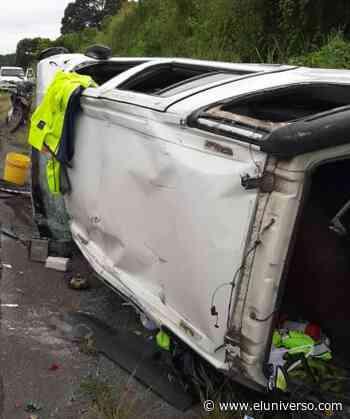 Agente de tránsito murió en accidente en la vía Balzar - Guayaquil - El Universo