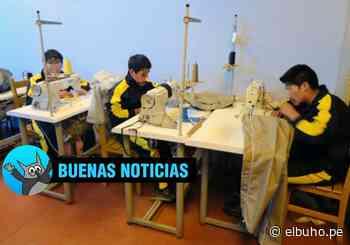 Centro Juvenil Alfonso Ugarte confecciona mascarillas para covid-19 - El Búho - Arequipa