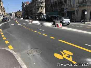 L'avenue d'Arches passe au vélo, à Charleville-Mézières - L'Ardennais
