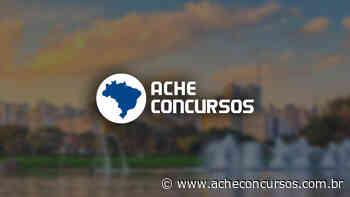 Prefeitura de Lagoa Santa-MG prorroga inscrições de seleção na saúde - Ache Concursos