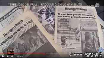 Gemona, Commemorazione 6 maggio 1976. Le parole del Sindaco Roberto Revelant - Udine20