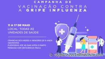 Campanha de vacinação contra a gripe continua em Cajati - Adilson Cabral