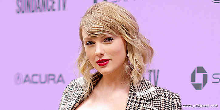 Taylor Swift Raises a Glass & References 'Reputation' in Isolation - See Her Quarantine Selfie!