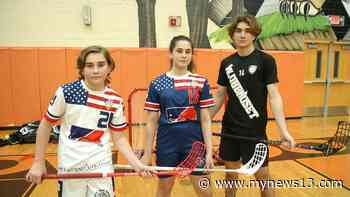 Oviedo Floorball Players Represent USA on Global Stage - News 13 Orlando