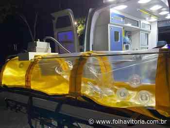 Coronavírus: Aracruz vai usar ambulância com cápsula de isolamento - Jornal Folha Vitória