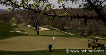 As Golf Courses Reopen, New Players Take Up the Long Walk