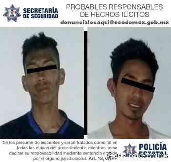 Tras asalto a transeúnte, SS detiene a dos responsables en Ixtapaluca - Noticiario Así Sucede