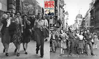 I just wish Hitler could hear the cheering!That was one little girl's take on VE Day