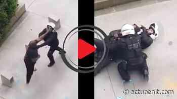 Noisy-le-Grand : Deux motards de la police en difficulté lors d'une interpellation - ACTU Pénitentiaire