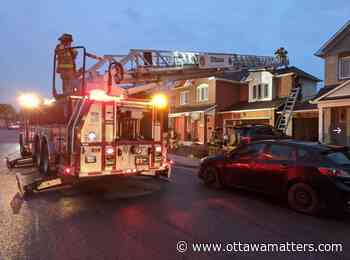 Early morning fire damages Kanata home, no injuries - OttawaMatters.com