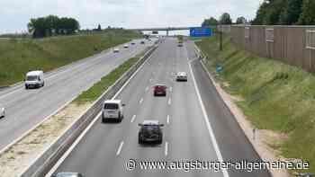 Flüsterasphalt wird erneuert: A8 am Wochenende zum Teil geperrt - Augsburger Allgemeine