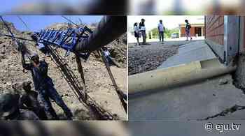 Tres escuelas de «Evo Cumple» se caen a pedazos en Sicaya, Cochabamba - eju.tv
