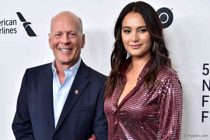 Bruce Willis and wife Emma Heming reunite after breakup buzz hits boiling point - Page Six