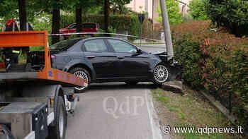 Incidente a Susegana: in auto contro il palo della luce. Due anziani in pronto soccorso per accertamenti - Qdpnews.it - notizie online dell'Alta Marca Trevigiana