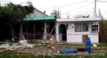 Se registró explosión de tanque de gas en Tlaxcalancingo - Puebla Noticias