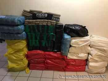 Caminhão com 700 kg de maconha é apreendido em Campina Verde, no Triângulo Mineiro - Hoje em Dia