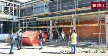 Neubau verbindet sanierte Schulgebäude in Aitrach - Schwäbische
