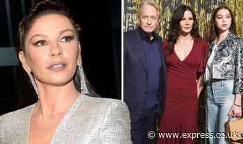 Catherine Zeta Jones: Michael Douglas' wife edits out daughter in surprising family post - Express
