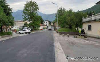 Valmadrera. Completati i lavori di asfaltatura in via Roma - Lecco Notizie