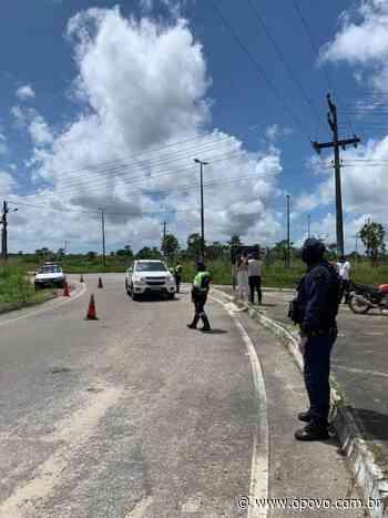 Pacatuba instala barreiras sanitárias como forma de combate ao coronavírus - O POVO