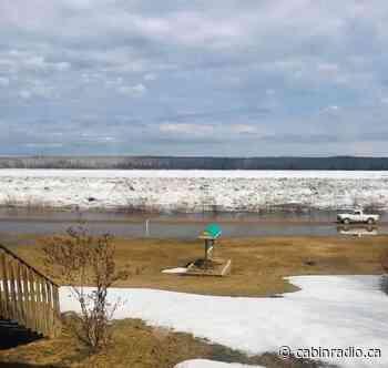Liard River breaks as Fort Simpson waits on Mackenzie - Cabin Radio