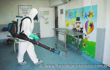 Equipamentos de saúde de Abreu e Lima são higienizados - Diário de Pernambuco