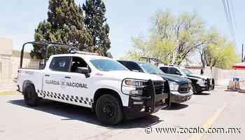 Mantiene recorridos GN en Nueva Rosita [Coahuila] - 26/04/2020 - Periódico Zócalo